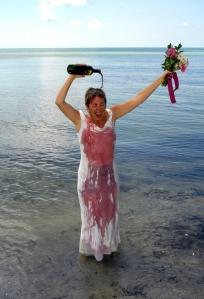 Key West Trashed Bride
